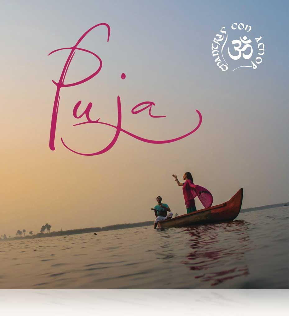 Mantras con Amor Nuevo CD Puja. BHAKTI MUSIC